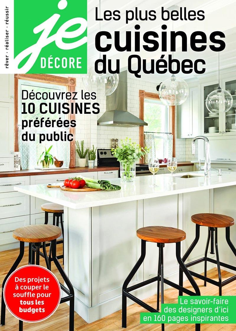 Je d core les plus belles cuisines du qu bec claudia - Les plus belles cuisines design ...
