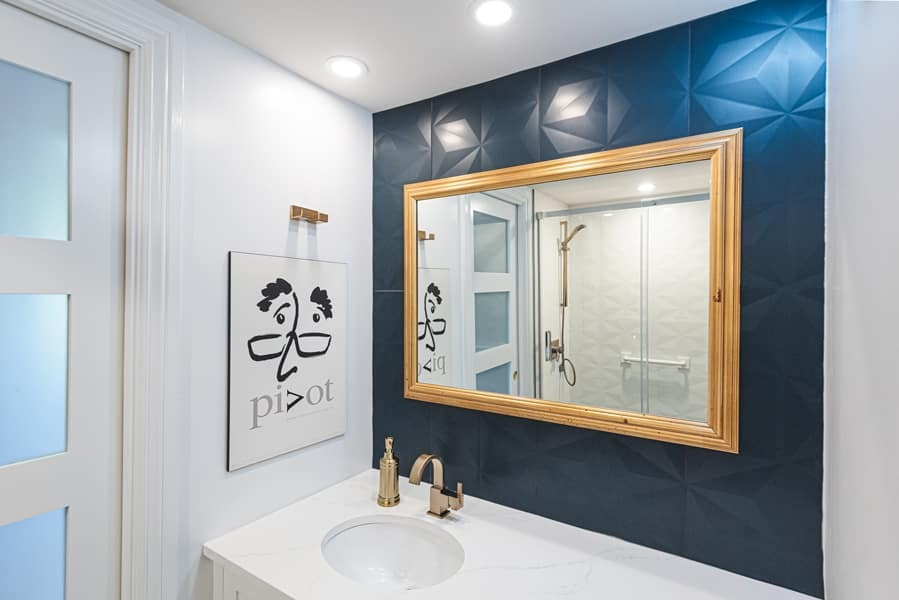 Rénovation salle de bain- Claudia Bérubé Designer